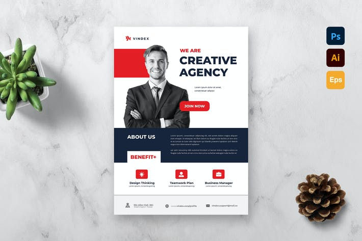Thumbnail for Company Flyer Template