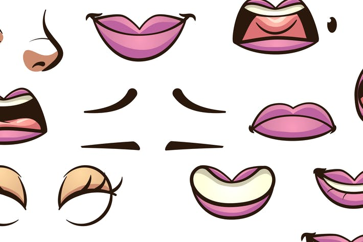Female Mouths