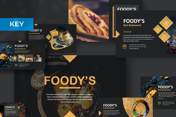Thumbnail for Foody Keynote