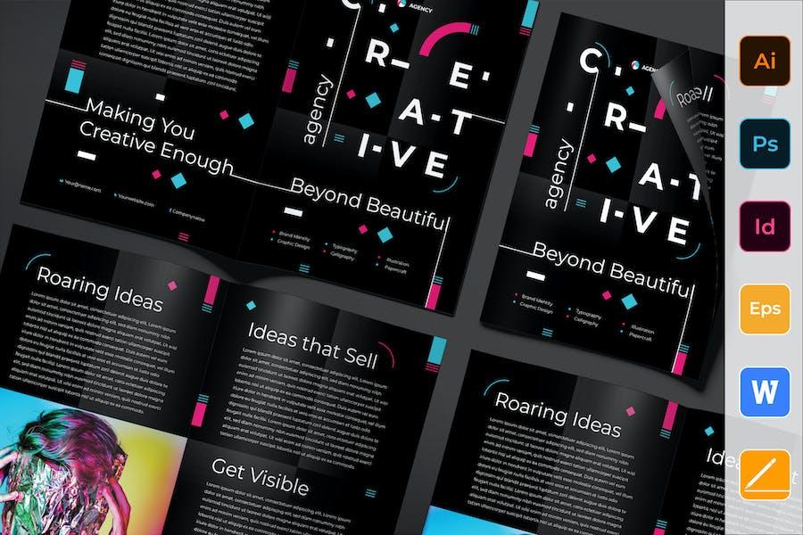 Creative Agency Brochure Bifold