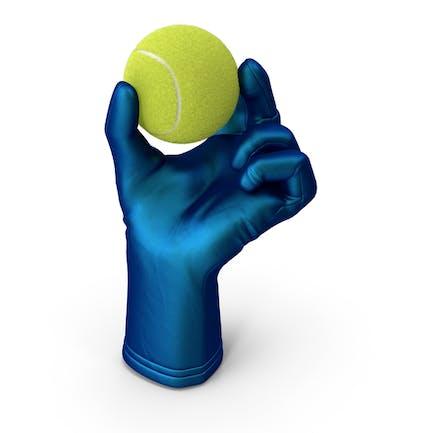 Теннисный мяч для перчаток