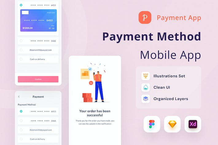 Thumbnail for Payment Method Mobile App