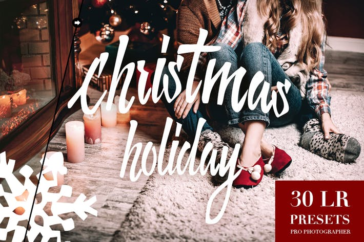 Thumbnail for Christmas Holiday Lightroom Presets