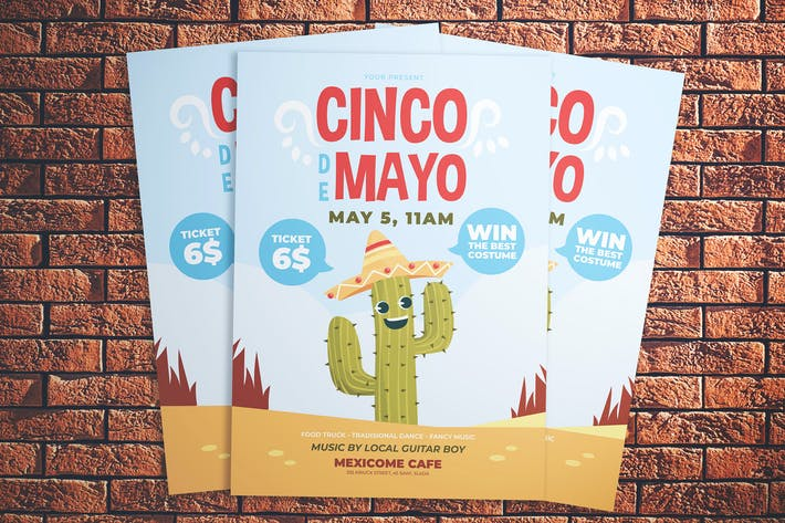 Thumbnail for Cinco De Mayo Party Flyer