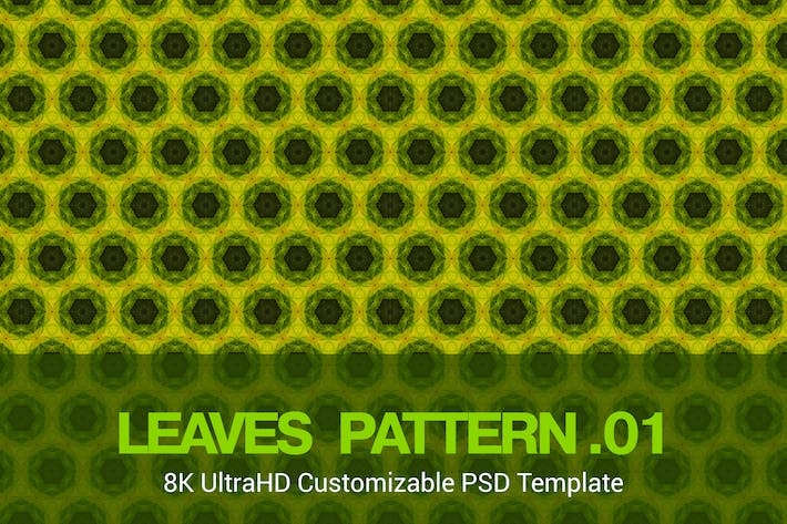 Thumbnail for 8K UltraHD Seamless Leaves Pattern Background