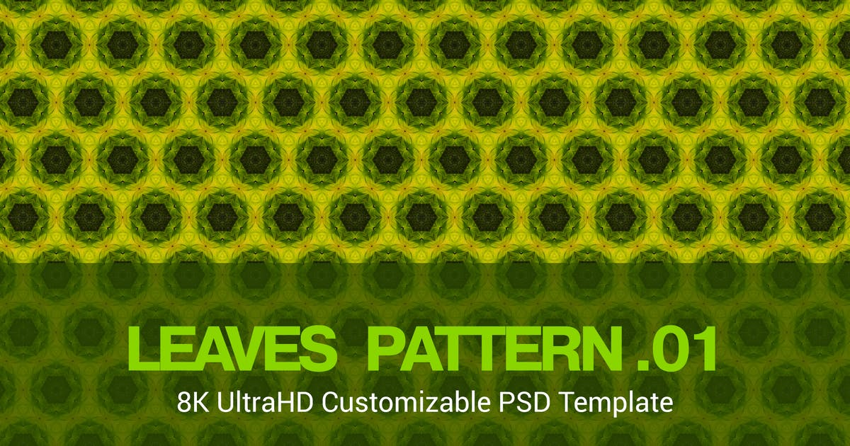 Download 8K UltraHD Seamless Leaves Pattern Background by SinCabeza