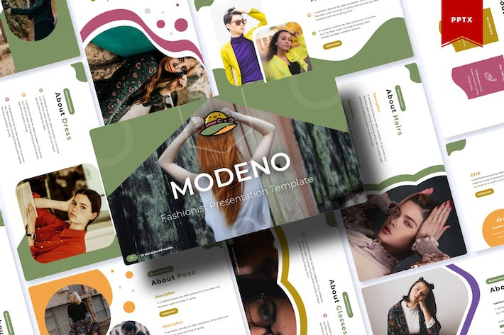 Thumbnail for Modeno | Powerpoint Template