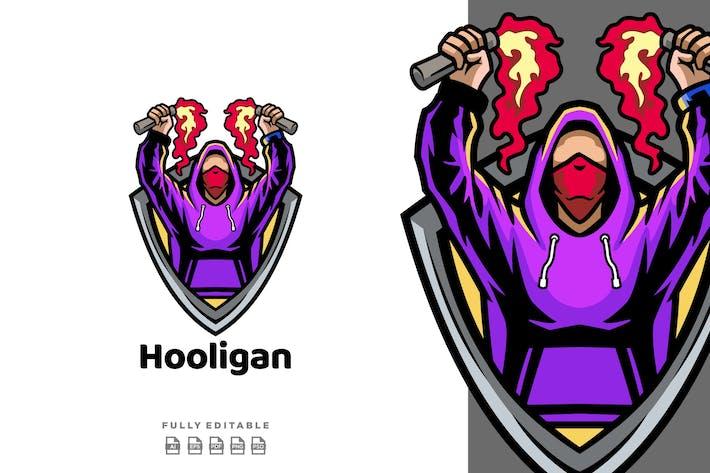 Hooligan-Logovorlage