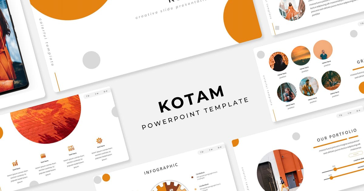 Download Kotam - Powerpoint Template by IanMikraz