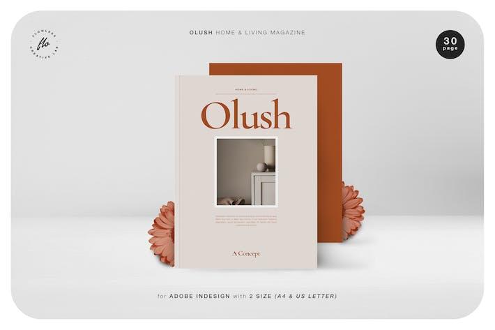 Thumbnail for Olush Home & Living Magazine