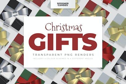 Christmas Gift Renders