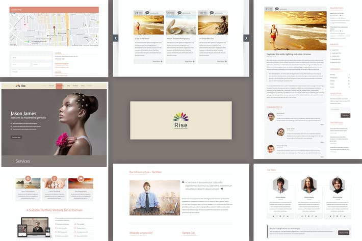 Download 16 Freelance Website Templates - Envato Elements