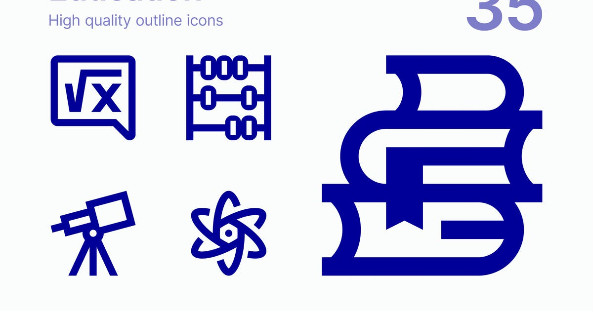 Download Education icons by polshindanil