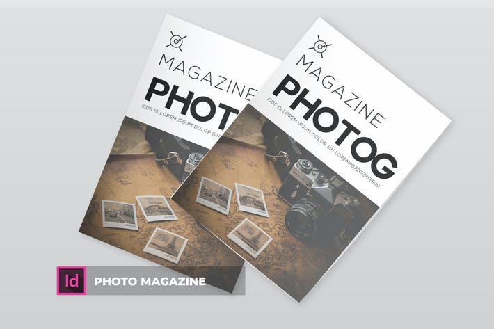 Cover Image For Photo | Magazine Template