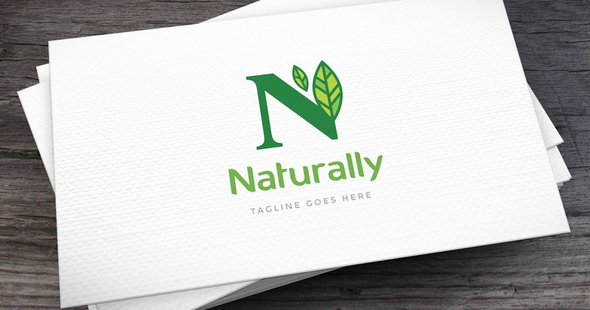 Download Naturally Letter N Logo Template by empativo