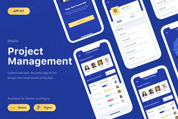 Thumbnail for Project Management App