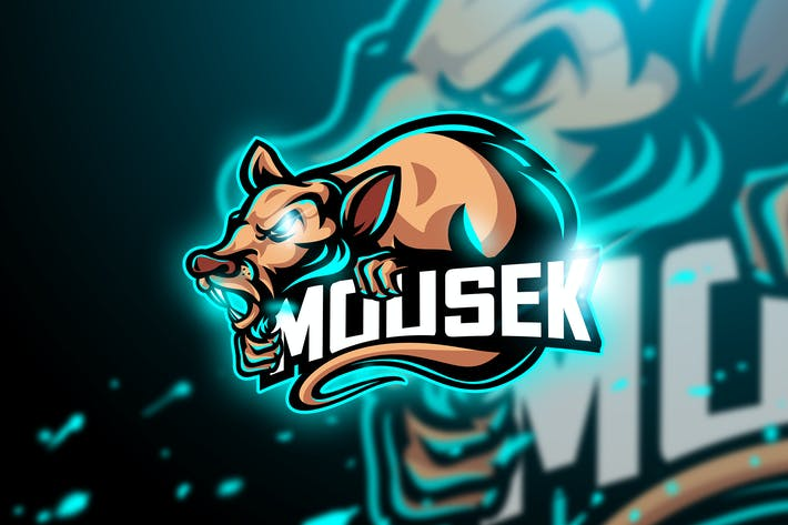 Thumbnail for Mousek - Mascot & Esport Logo