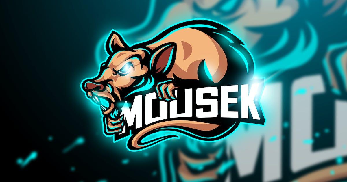 Download Mousek - Mascot & Esport Logo by aqrstudio