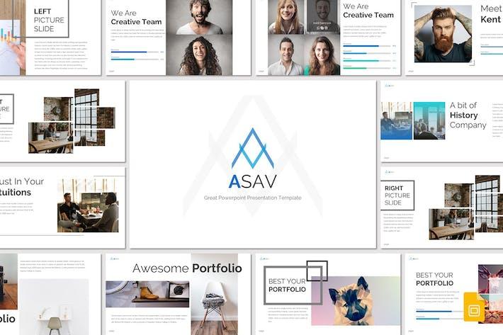 Thumbnail for ASAV - Google Slides Template