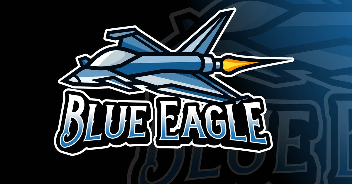 Download Blue Eagle Logo Template by IanMikraz