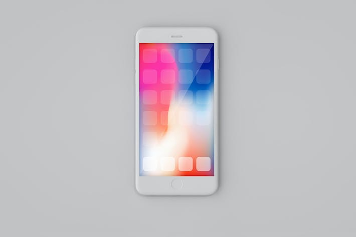 Thumbnail for iPhone Front Clay Mockup