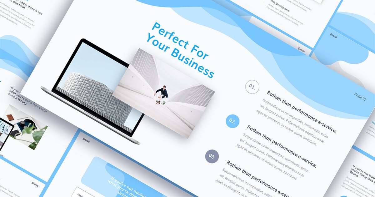 Download GRANDE PowerPoint Presentation by InvasiStudio