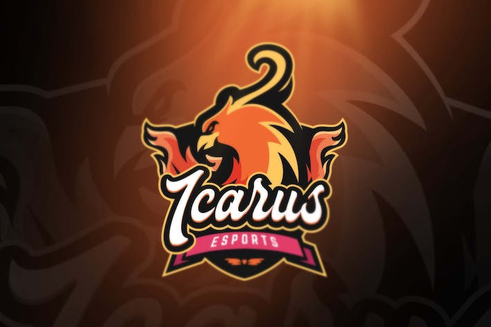 Thumbnail for Icarus Sport and Esports Logos