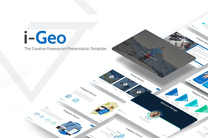 Thumbnail for i-Geo Powerpoint Template