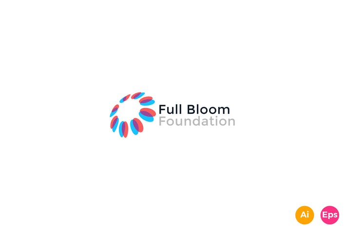 Thumbnail for Full Bloom Foundation Logo Template