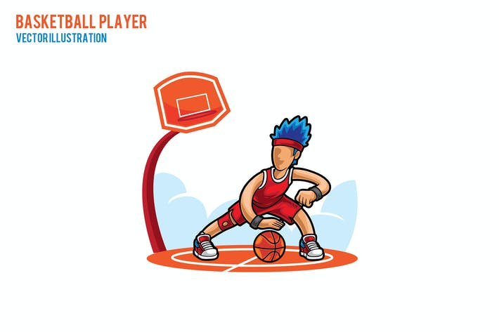 Ilustración Vector Baketball