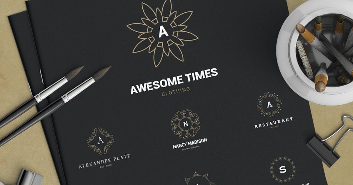 Download 22 Monogram Logos by designdistrictmx