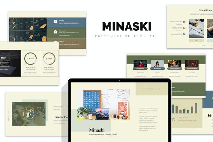 Thumbnail for Minaski : Startup Business Plan Google Slides