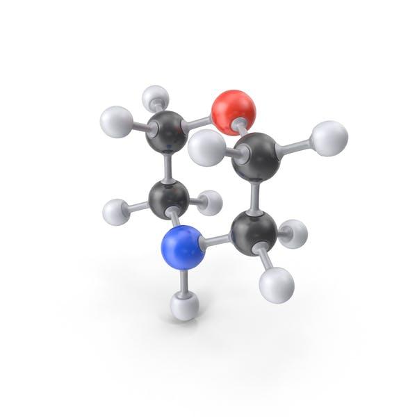 Thumbnail for Morpholine Molecule