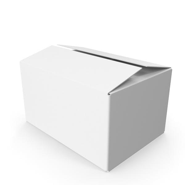 Thumbnail for Коробка из белого картона