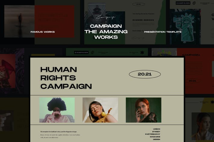 Campaign Keynote Template - LS