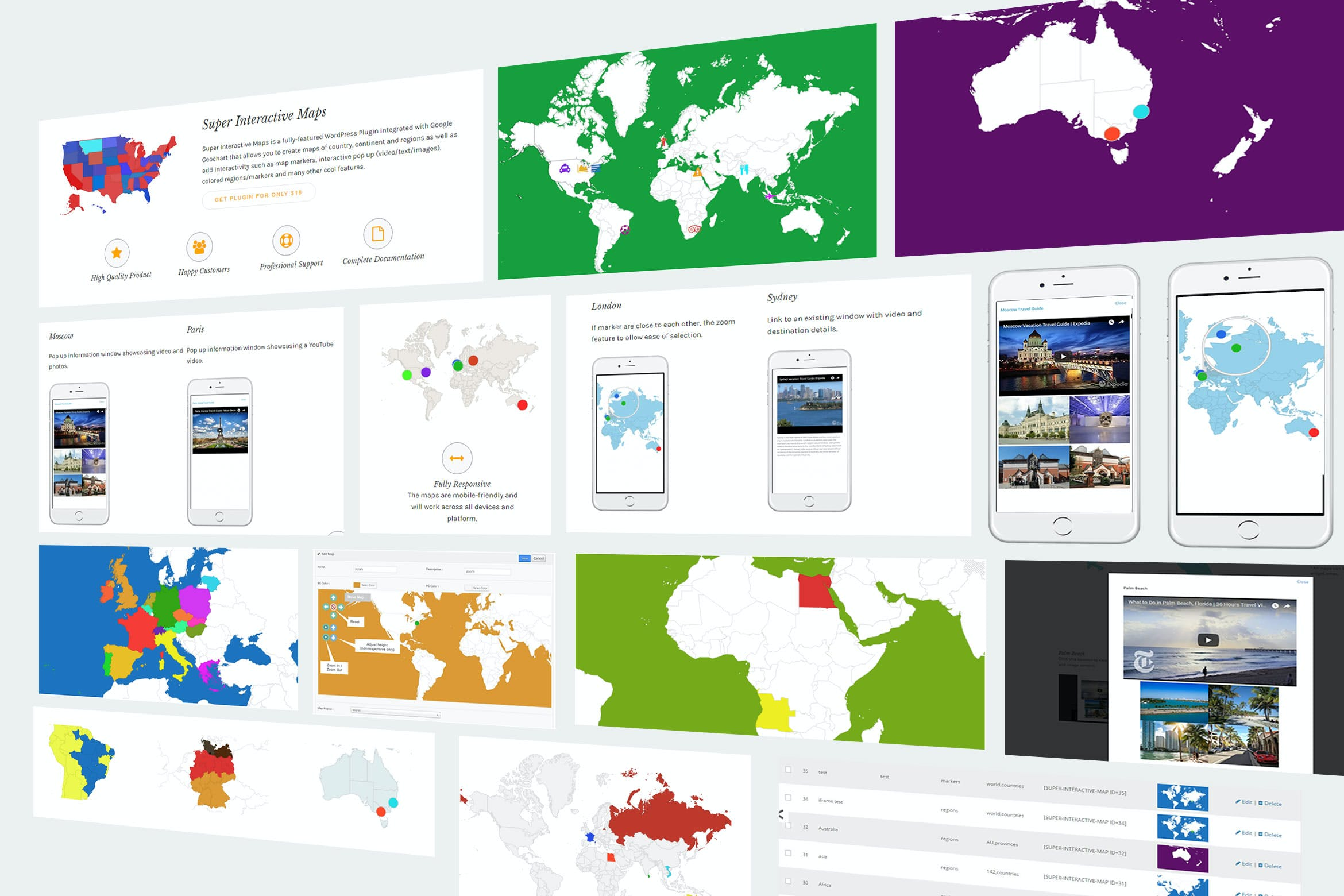 Super Interactive Maps by highwarden on Envato Elements