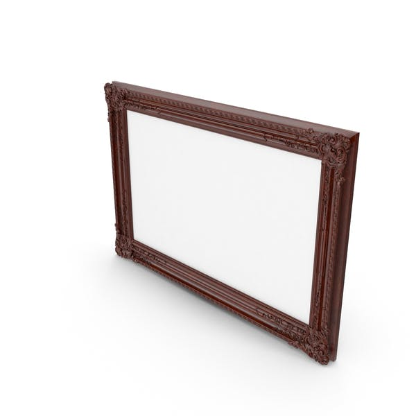 Wooden Brown Baroque Picture Frame