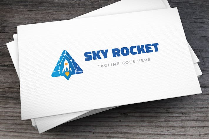 Thumbnail for Sky Rocket Logo Template