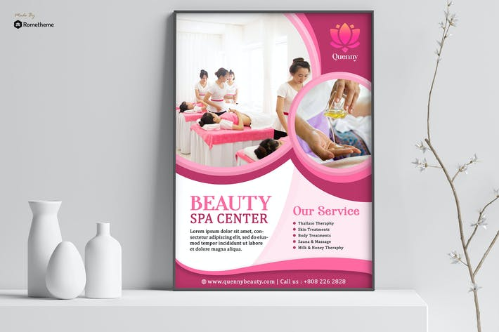 Thumbnail for Quenny - Spa and Beauty poster HR