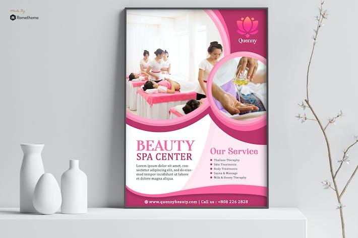 Thumbnail for Quenny - Affiche Spa et beauté HR