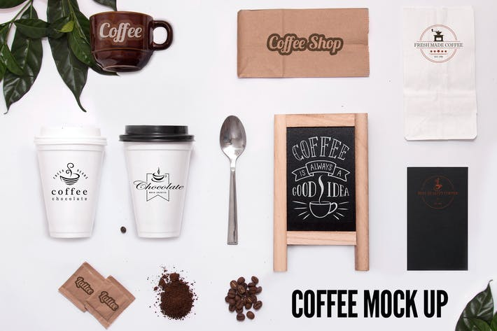 Cover Image For Coffee Mock Ups