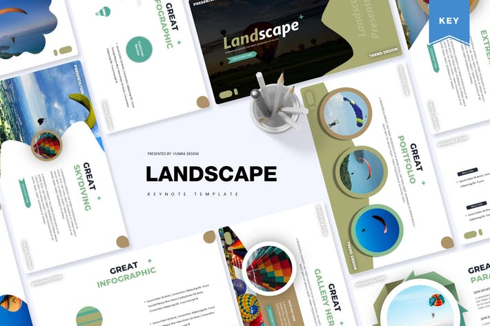 Thumbnail for Landscape | Keynote Template