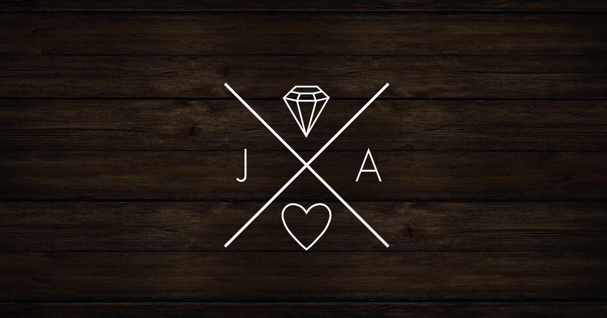 Download Monogram Logo Badge by roselindo