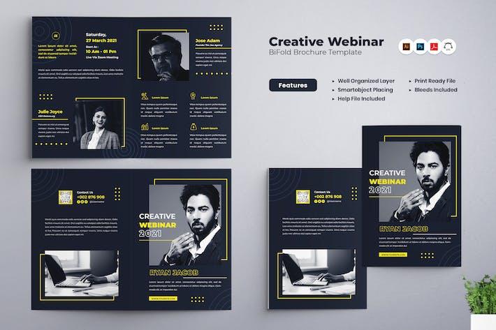 Thumbnail for Webinaire créatif Brochure bifold