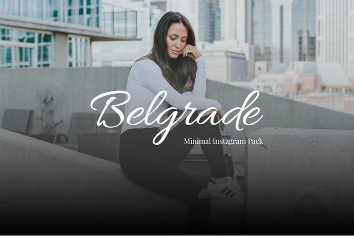 Thumbnail for Belgrade Minimal Instagram Pack