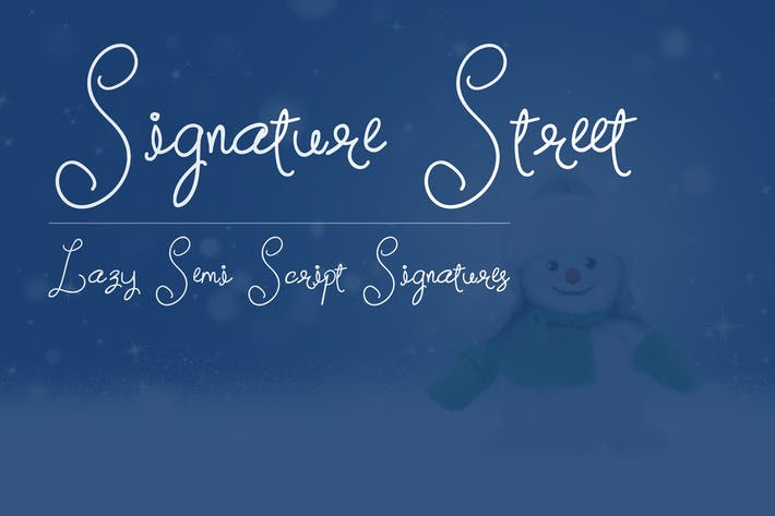 Cover Image For Signature Street
