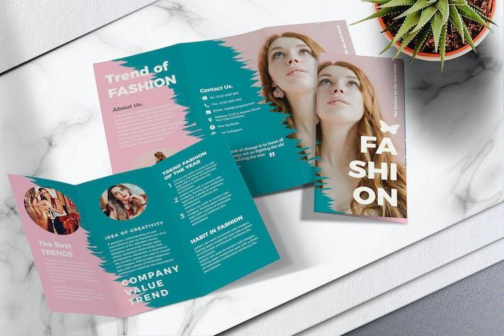 Thumbnail for Fashion Trifold Brochure Vol.01