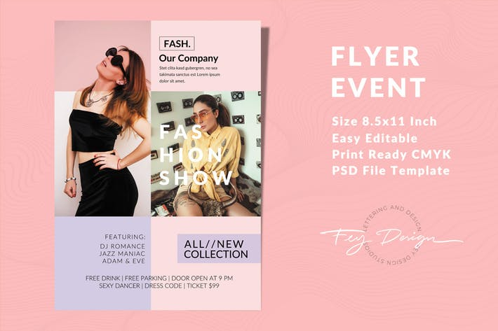Thumbnail for Fashion Flyer Event