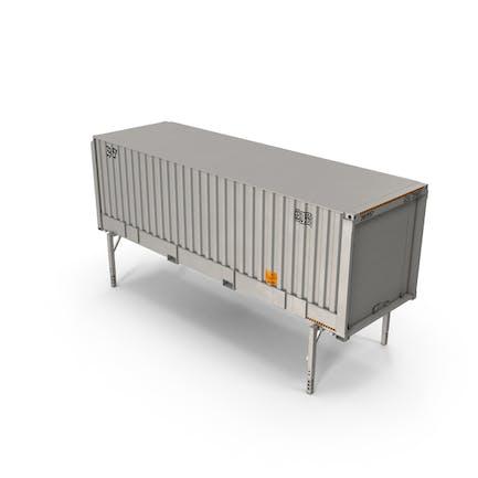 Contenedor de caja intercambiable ISO