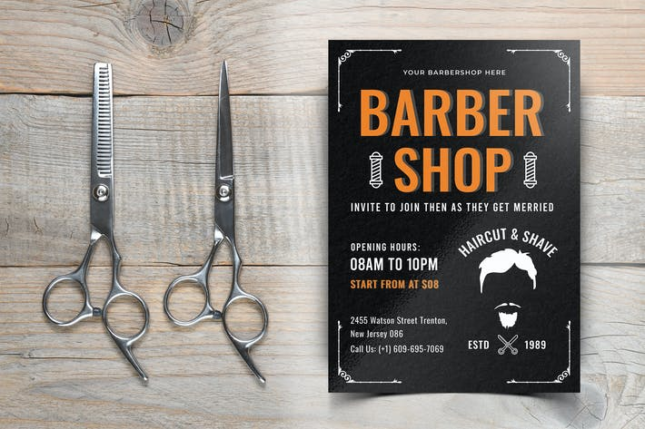 Thumbnail for Barber Shop Flyer-10
